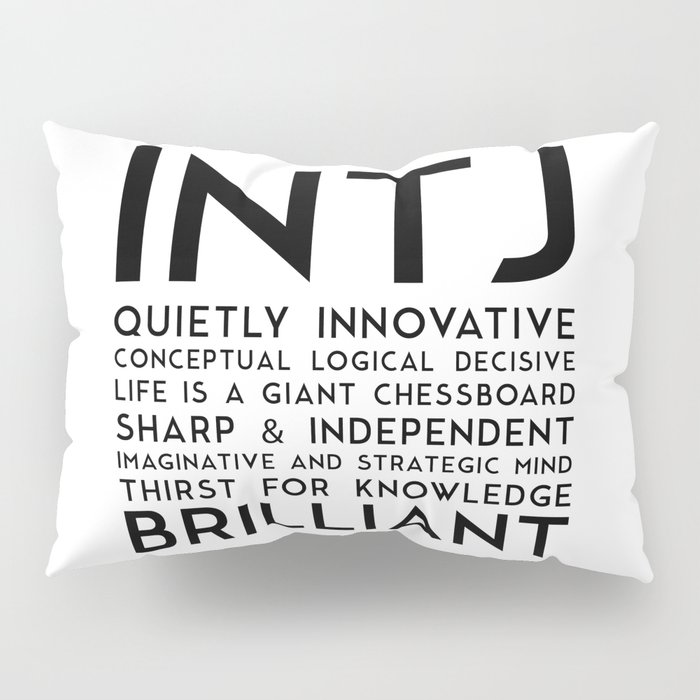 INTJ Pillow Sham