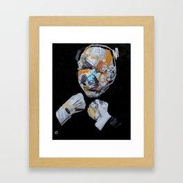 Nameless head 2. 2013.  Framed Art Print