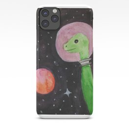 Space Dinosaurs iPhone Case
