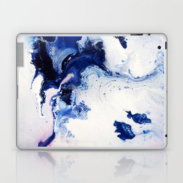 Riveting Abstract Watercolor Painting Laptop & iPad Skin