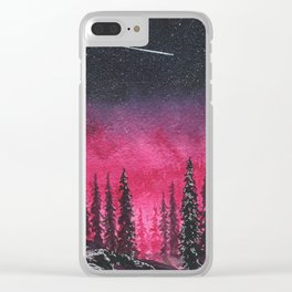 """""""The night won't affect you in any way..."""" Clear iPhone Case"""