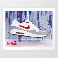 nike Art Prints featuring Nike by Reimer Marfil