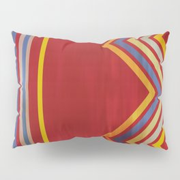 Stripes and Chevrons Ethic Pattern Pillow Sham