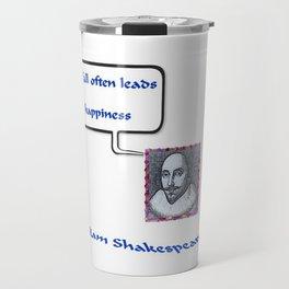 """""""Willshakespeare"""" TNT Travel Mug"""