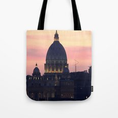 Night At The Vatican Tote Bag