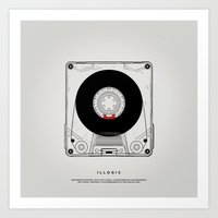 magnani Art Prints featuring STV - Illogic A01 by Gianmarco Magnani