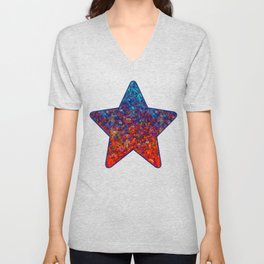 Glitter Dust Background G172 Unisex V-Neck