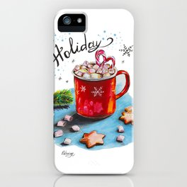 Holiday Coffee iPhone Case