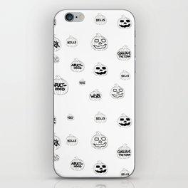 Scariest Pumpkins Around iPhone Skin