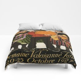 Vintage poster - Zurich Comforters