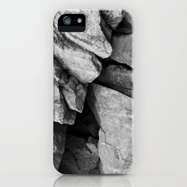 Cunningham Falls Rock Study 2 iPhone Case
