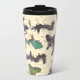 Skewed Beetles Metal Travel Mug