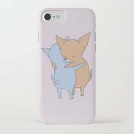 Chihuahua Hugs iPhone Case