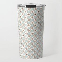 Mom's creme blooms Travel Mug