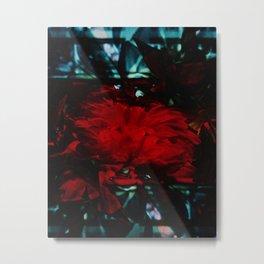 Red Metal Print