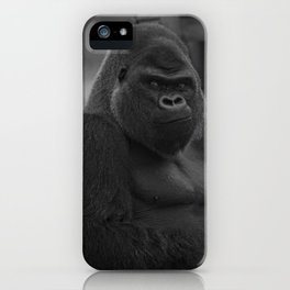 Oumbi The Silverback Gorilla iPhone Case