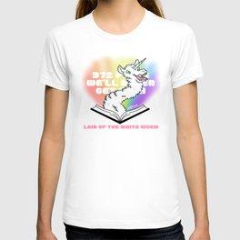 372 Pages - White Worm Llamacorn T-shirt