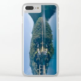 Canicada lake in Northern portugal Clear iPhone Case