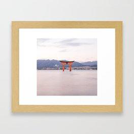 The Great Torii Framed Art Print
