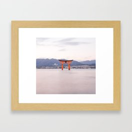 The Great Torii Framed Art Print