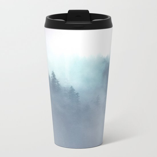 Faded Echos Metal Travel Mug