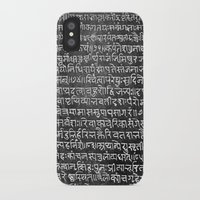 scripture iPhone & iPod Cases featuring Scripture by ArpanDholi