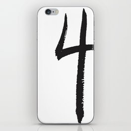 4 Rings Brush iPhone Skin