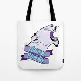 Tough Pussy Tote Bag