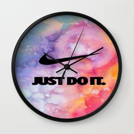Nike's Just Do It Wall Clock
