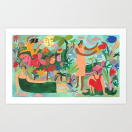 LEOVY X IVY & OAK Art Print