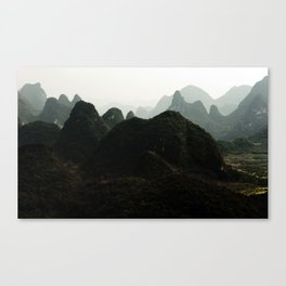 mystical China Canvas Print