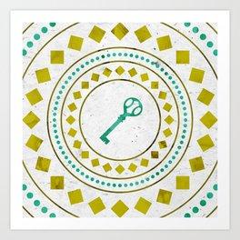 Phantom Keys Series - 05 Art Print