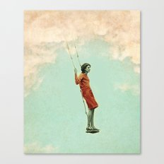 Lucy in the sky Canvas Print
