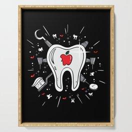 Molar Imagery | Dentistry Serving Tray