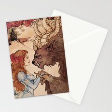 Beauty and the beast Stationery Cards