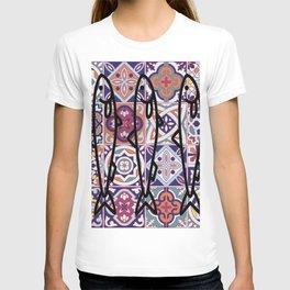 Azulejos Portugal sardine T-shirt
