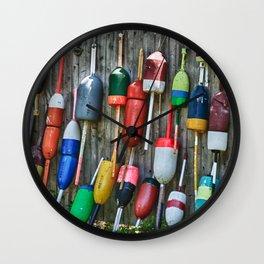 Lobster Floats Wall Clock