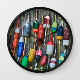 Lobster Floats Wall Clock
