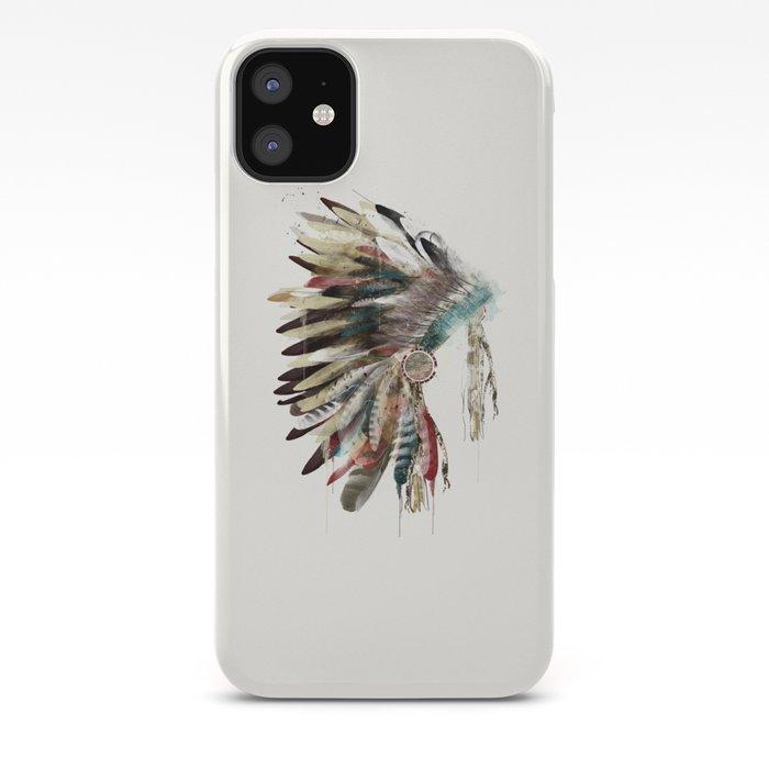 Native Headdress iPhone 11 case