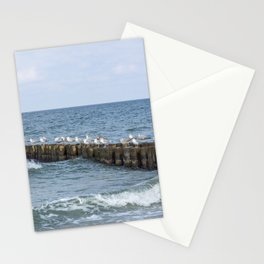 Seagull Relaxing Beach Summer Stationery Cards