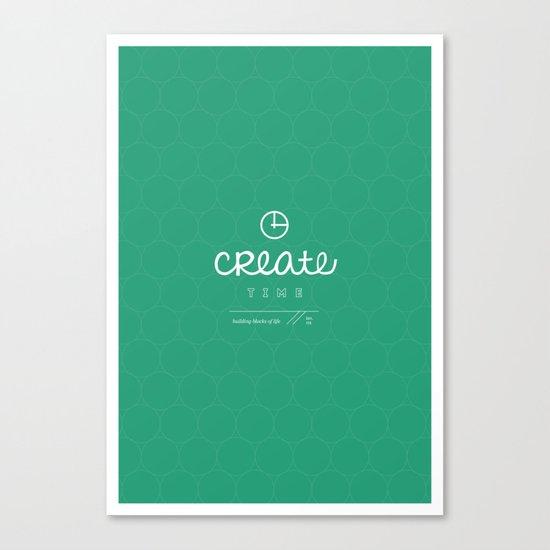 Create Time Canvas Print