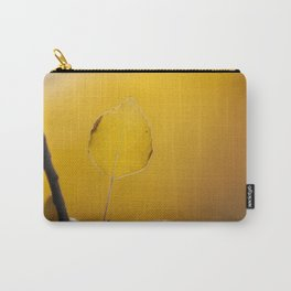 Golden Aspen Leaf Carry-All Pouch
