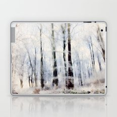 Winter landscape Aquarell Laptop & iPad Skin