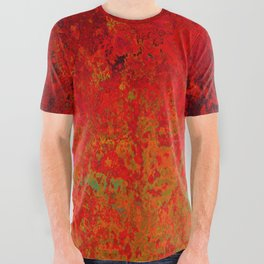 Figuratively Speaking, Abstract Art All Over Graphic Tee