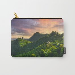 Prosecco Hills Sunset Carry-All Pouch