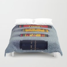 Old Film Rolls Duvet Cover