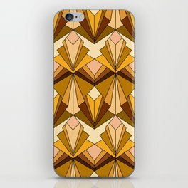 Art Deco meets the 70s iPhone Skin