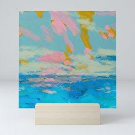 la mer in summer  Mini Art Print