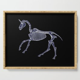 Unicorn Fossil Serving Tray