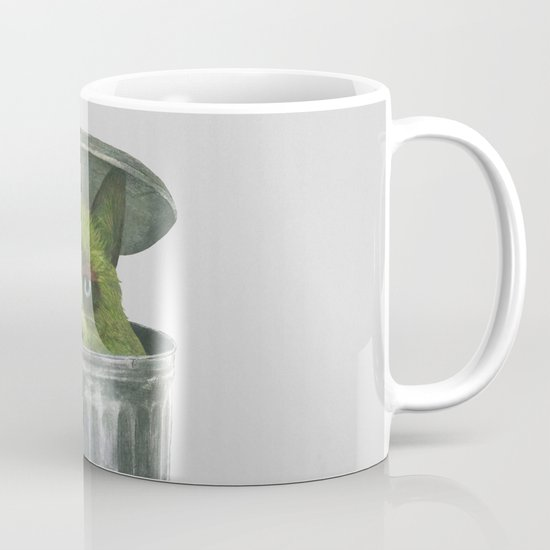Grouchy Cat  Mug